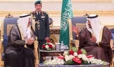 الملك سلمان يعقد جلسة مباحثات مع أمير الكويت حول مستجدات أحداث المنطقة