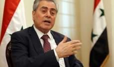 السفير السوري: نرحّب بباسيل ونحرص على تقديم التسهيلات لإعادة النازحين