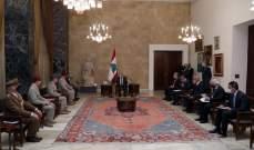 الرئيس عون: معركتي من اجل الإصلاح مستمرة