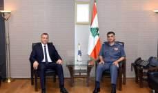 اللواء عثمان بحث مع النائب درويش الأوضاع العامة