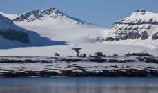 مختبر فلكي لاسلكي بالقطب الشمالي يستقبل إشارات واردة من النجوم