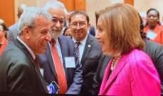 الوفد النيابي اللبناني التقى في واشنطن رئيسة مجلس النواب الاميركي