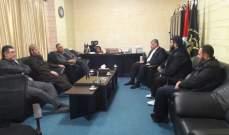 ممثل حركة الجهاد الإسلامي بلبنان استقبل وفدا من عصبة الأنصار الإسلامي