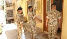 الجيش: مواصلة توزيع المساعدات على منازل المواطنين المتضررين جراء انفجار المرفأ