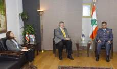 اللواء عثمان استقبل كوبيش ورئيس اتحاد التربية البدنية والعميد خشفة