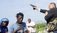 سيناتور في هايتي يطلق النار ويصيب شخصين بالخطأ أحدهم صحافي
