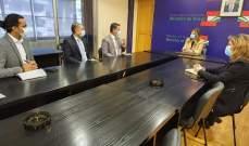 يمين عرضت مع السفير البنغلادشي تسوية اوضاع العمال غير النظاميين