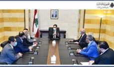 نواب بعلبك الهرمل عرضوا مع دياب قضيتا الأمن والبناء في المحافظة