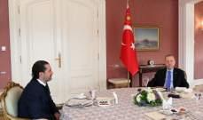 الجديد: مهمة الحريري في تركيا كانت بتكليف عربي وهو توجه الى هناك بمهمة سرية
