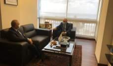 رحمة التقى روداكوف وشكر روسيا على مؤازرتها الدائمة للبنان