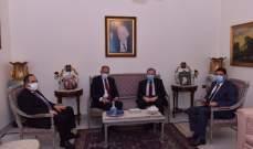 البزري التقى السفير التونسي وعرضا سبل تعزيز التعاون الصحي