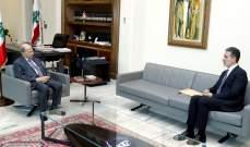الرئيس عون التقى نصار وحسين وأبرق لسلطان عمان معزّيا ويترأس غدا مجلسَي الوزراء والدفاع الأعلى
