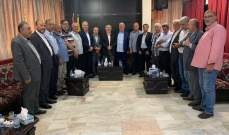 حب الله التقى القيادة السياسية الفلسطينية الموحدة في لبنان