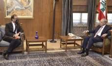 بري استقبل السفير الفرنسي في لبنان بزيارة وداعية