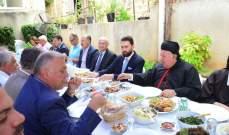 تيمور جنبلاط زار النائب السابق إيلي عون وعقد لقاء مع عدد من عائلات الدامور