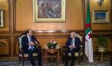 رئيس وزراء تونس التقى رئيس الجزائر الانتقالي وسلّمه رسالة من نظيره التونسي