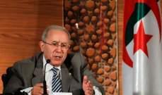 وزير الخارجية الجزائري يعلن ان بوتفليقة سيسلم السلطة لرئيس ينتخبه الشعب