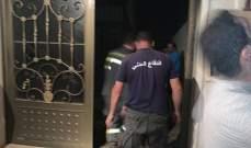 الدفاع المدني: اخماد حريق لوحة فواصم في مجدل عنجر