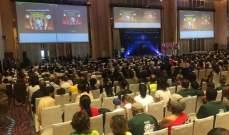 فوز فريق حاصبيا ببطولة العالم بالحساب الذهني الفوري في مدينة بانكوك