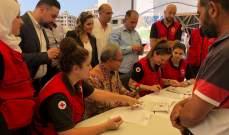وزارة النازحين والسفارةالاندونيسية وزعتا 800 حصة غذائية على النازحين في صيدا