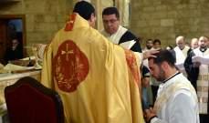خيرالله منح الدرجة الكهنوتية لمرسيلينو عسال في البترون