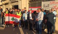 النشرة: ناشطون من بعلبك والقرى المجاورة نفذوا وقفة رمزية بساحة المطران
