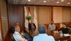 دبوسي التقى شركات تسويق الالكتروني:لاطلاق تسويق منتجات وطنية من طرابلس