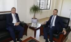 أفيوني بحث مع سفير بريطانيا تفعيل مشاريع إنمائية