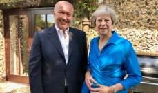 مخزومي التقى ماي: بريطانيا تقف إلى جانب استقرار لبنان وتدعمه بقضاياه الملحة