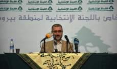 حسين الخليل: لإعطاء فرصة للبلد وللحكومة التي اخذت على عاتقها حمل أعباء أوضاع البلاد