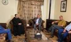 الأب بو عبود زار قيادة حزب الله في البقاع: نستغرب مطالبة البعض اليوم بنزع سلاح المقاومة