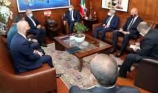 اللواء إبراهيم بحث مع وزير الداخلية الألباني الأوضاع العامة ومواضيع ذات اهتمام مشترك