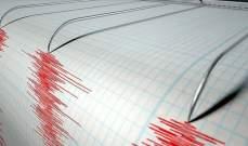 زلزال بقوة 5.4 درجات ضرب مدينة فارياب جنوب شرقي إيران