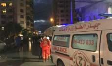 القوى الامنية اطلقت النار في الهواء بعد القاء المحتجين قنبلة مولوتوف على مبنى سرايا طرابلس