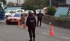 اصابة عدد من الاشخاص بعدما قام مراهق بمهاجمتهم بفأس في سويسرا