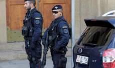 """توقيف شخصين في إيطاليا للاشتباه بأنهما قريبان من تنظيم """"داعش"""""""