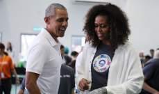أوباما: زوجتي لن تترشح أبدا لرئاسة الولايات المتحدة
