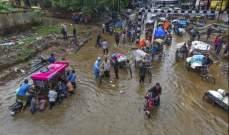 حصيلة ضحايا فياضانات الهند ترتفع الى 357