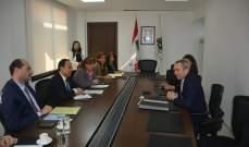 بطيش ومراد عرضا مع رامبلينغ العلاقات التجارية بين لبنان وبريطانيا بعد البريكست