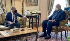 وزير خارجية مصر بحث مستقبل الشعب السوري مع رئيس تيار الغد السوري