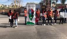 """ثانوية مصطفى شمران تنظم حملة """"مش مسموح نكبّ من الشبّاك"""""""
