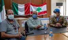 الكتيبة الإيطالية تقدم 4 أجهزة تنفس اصطناعي وانعاش لبلدية صور