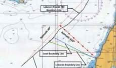 جيروزاليم بوست: إسرائيل ترسم لأول مرة خريطة جديدة للمنطقة المتنازع عليها مع لبنان في المتوسط