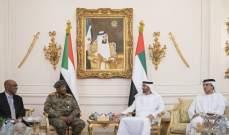 ولي عهد أبوظبي أكد أهمية الحوار بين السودانيين: ندعم السودان بما يحفظ أمنه واستقراره