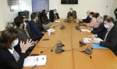 وزير الصحة بحث مع الأونروا في خطة تلقيح الفلسطينيين