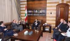 """الحريري بحث مع دوكان بالجهود والخطوات المطلوبة لتنفيذ مقررات مؤتمر """"سيدر"""""""