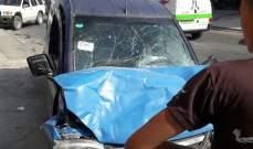 النشرة: جرحى نتيجة حادث سير بين سيارتين في بلدة الدوير في النبطية