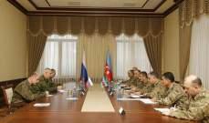 وزير دفاع أذربيجان التقى قائد مهمة قوات حفظ السلام الروسية بقره باغ