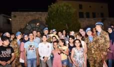 حفل افطار لأولاد شهداء الجيش وقوى الأمن في صور