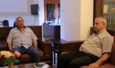سعد التقى وفدا من منظمة العمل الشيوعي: لبناء ائتلاف واسع لقوى المعارضةمن أجل انقاذ لبنان
